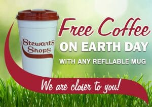 Free Coffee on Earth Day