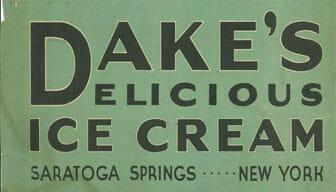 Dake's delicious Ice Cream