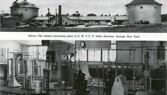 Stewart's Ice cream plant in 1950
