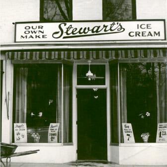 Stewarts Store Front 1950