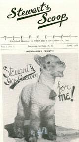 Stewarts Perky the Lamb poster