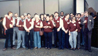 Group of Stewarts Employees