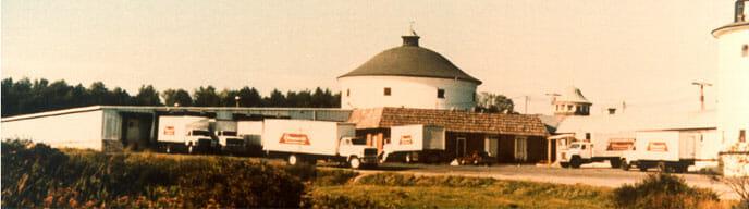 Stewarts warehouse in Greenfield Center