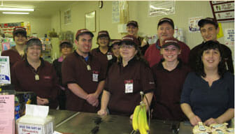 Group photo of Stewarts employees