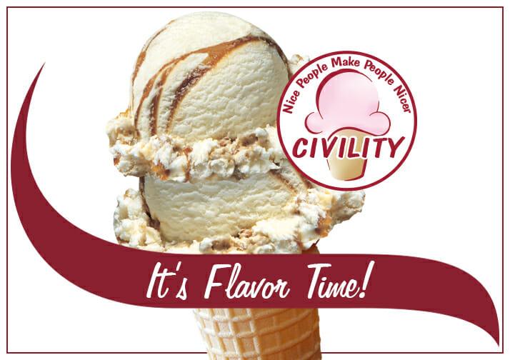 Civility ice cream is back