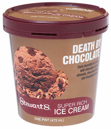 Death by chocolate pint