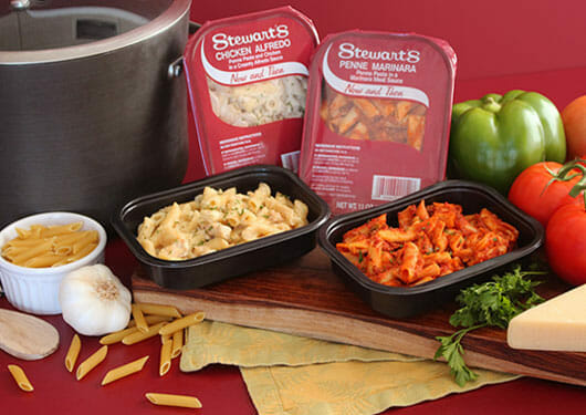 Stewart's food to go containers