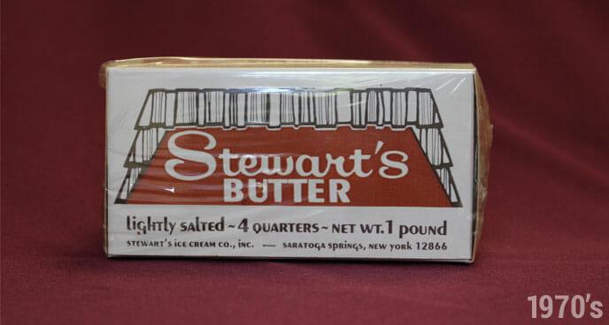 1970's Stewart's Butter
