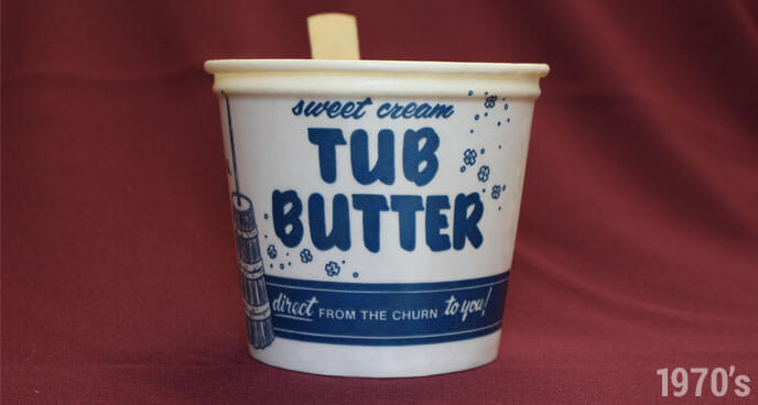 1970's Stewart's Tub of Butter