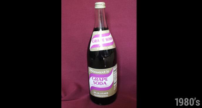 1980's Stewart's Grape Soda