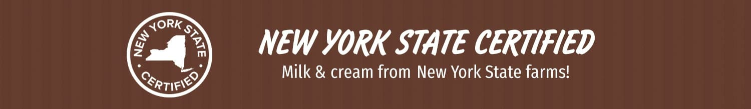 Milk & Cream from NY State Farms