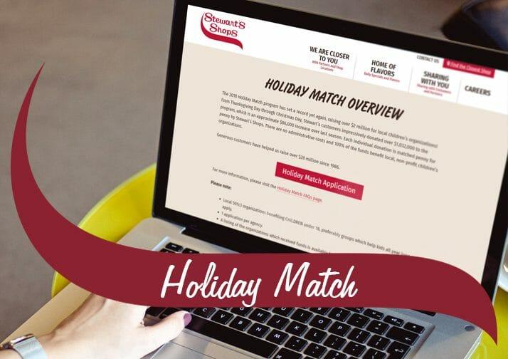 Holiday Match Application Deadline Soon