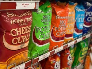 Stewart's Different Types of Chips