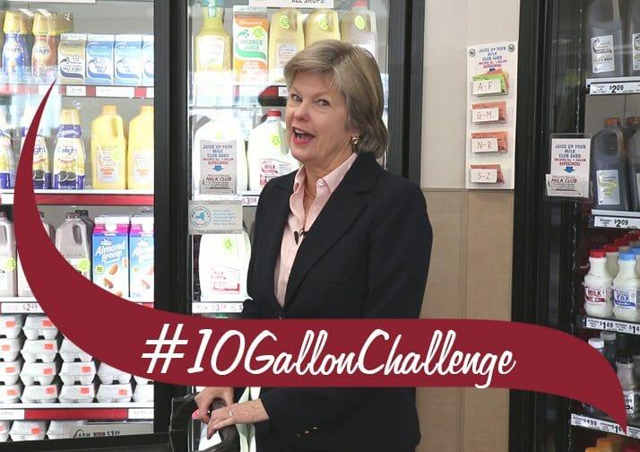 10 Gallon Challenge with Susan Dake
