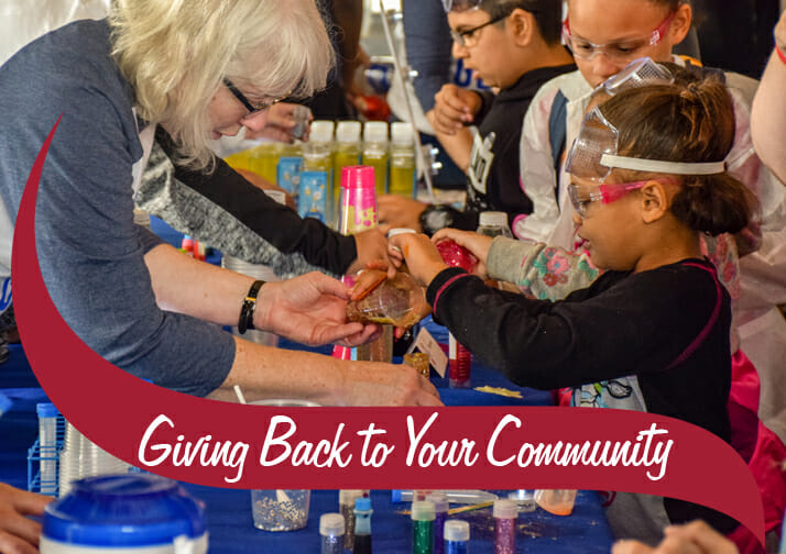 Giving Back to our Communities