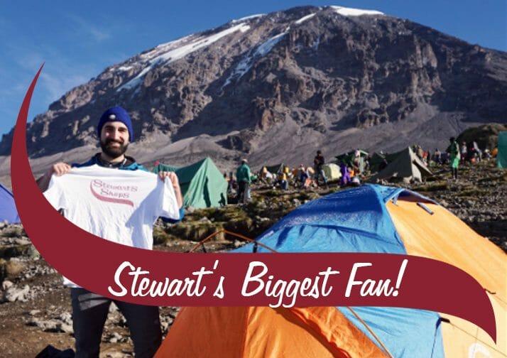 Stewarts Biggest Fan