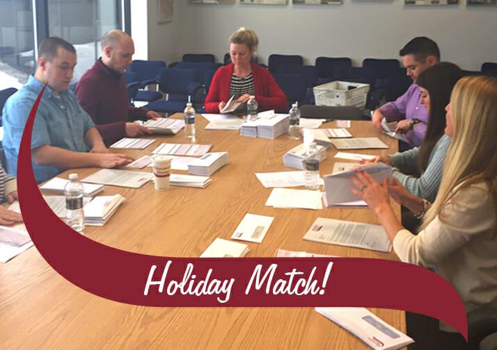 Holiday Match checks