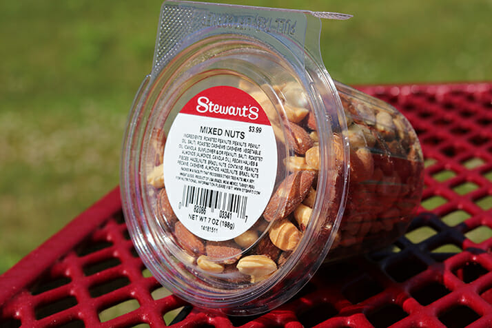 Mixed Nuts in a Cup
