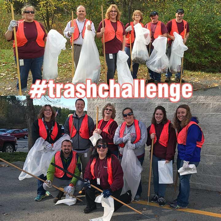 #trashchallenge crew