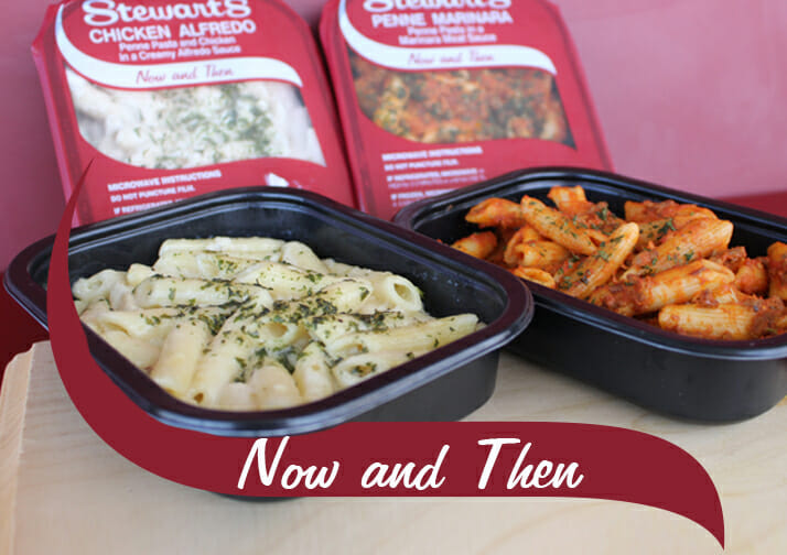 Now and Then Entrees
