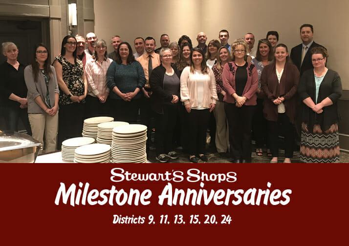 Milestone Anniversaries for Districts 9, 11, 13, 15, 20, 24