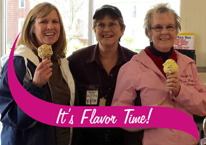 Mother's Day Cones are 50 cents at Stewart's Shops on Sunday, May 12th