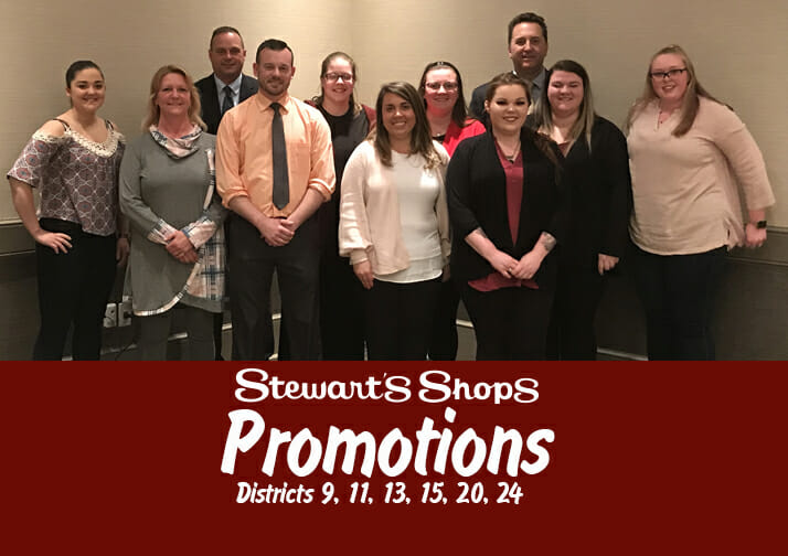 Promotions for Districts 9, 11, 13, 15, 20, 24
