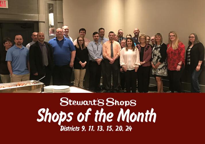 Shops of the Month Districts 9, 11, 13, 15, 20, 24