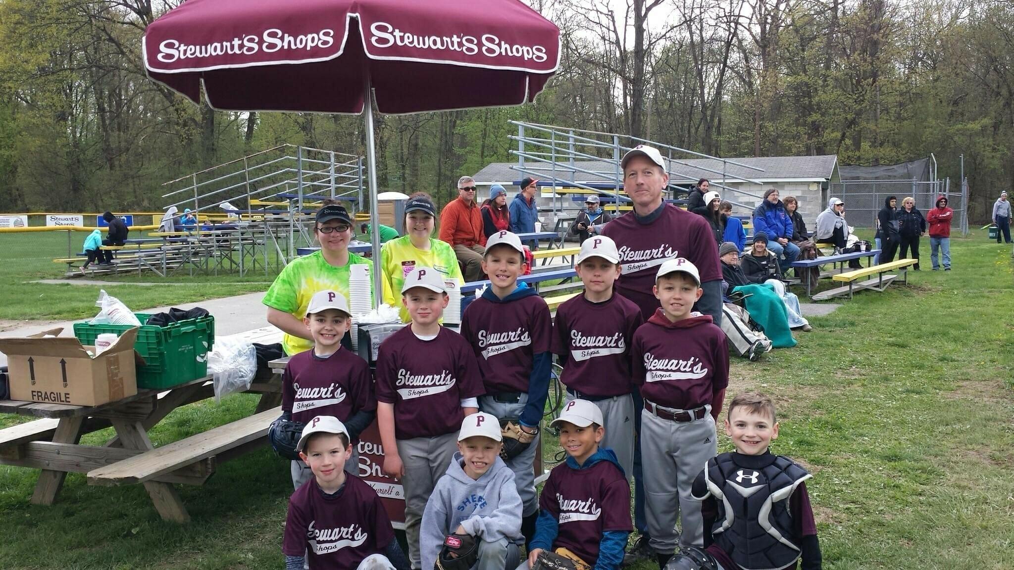 Stewarts kids Baseball Team