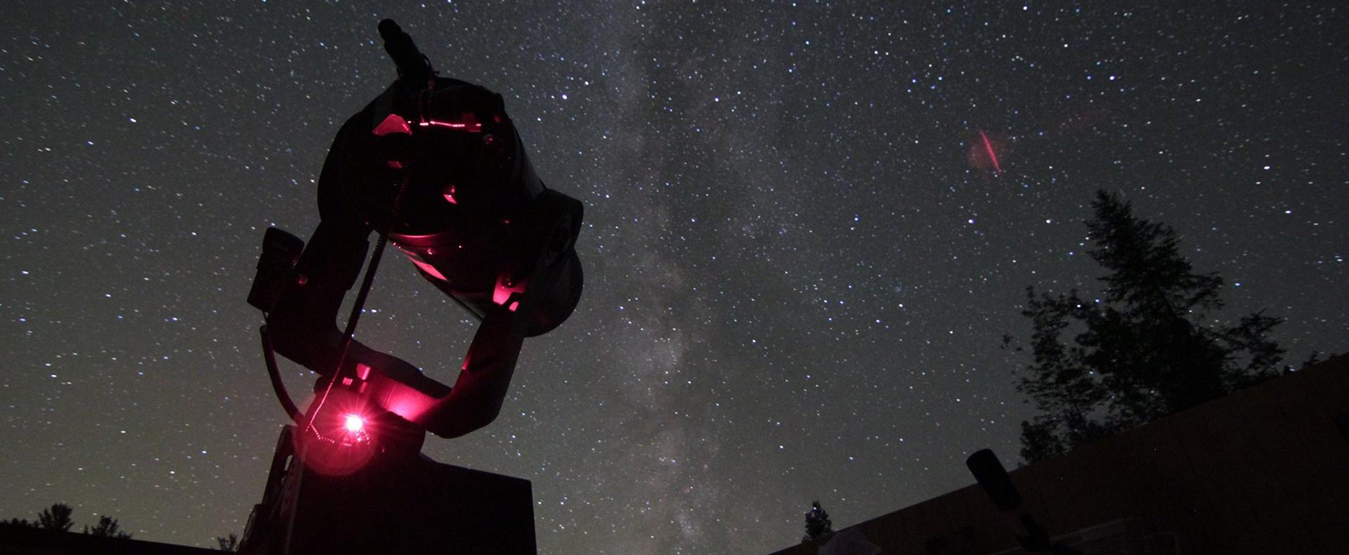 observatory nigh sky