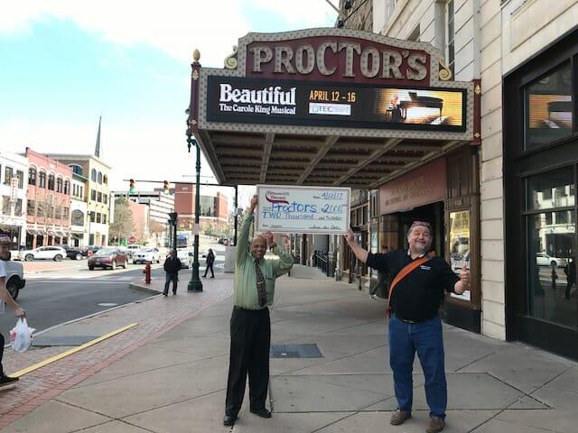 Proctor's Theater Stewart's Donation