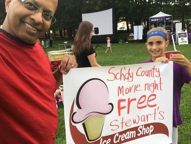 Schenectady County Movie Night_Stewart's Shops