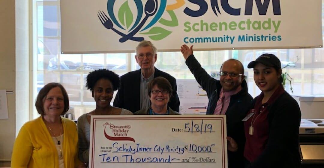 Stewart's Shops Gives Back to Schenectady Inn City Ministry