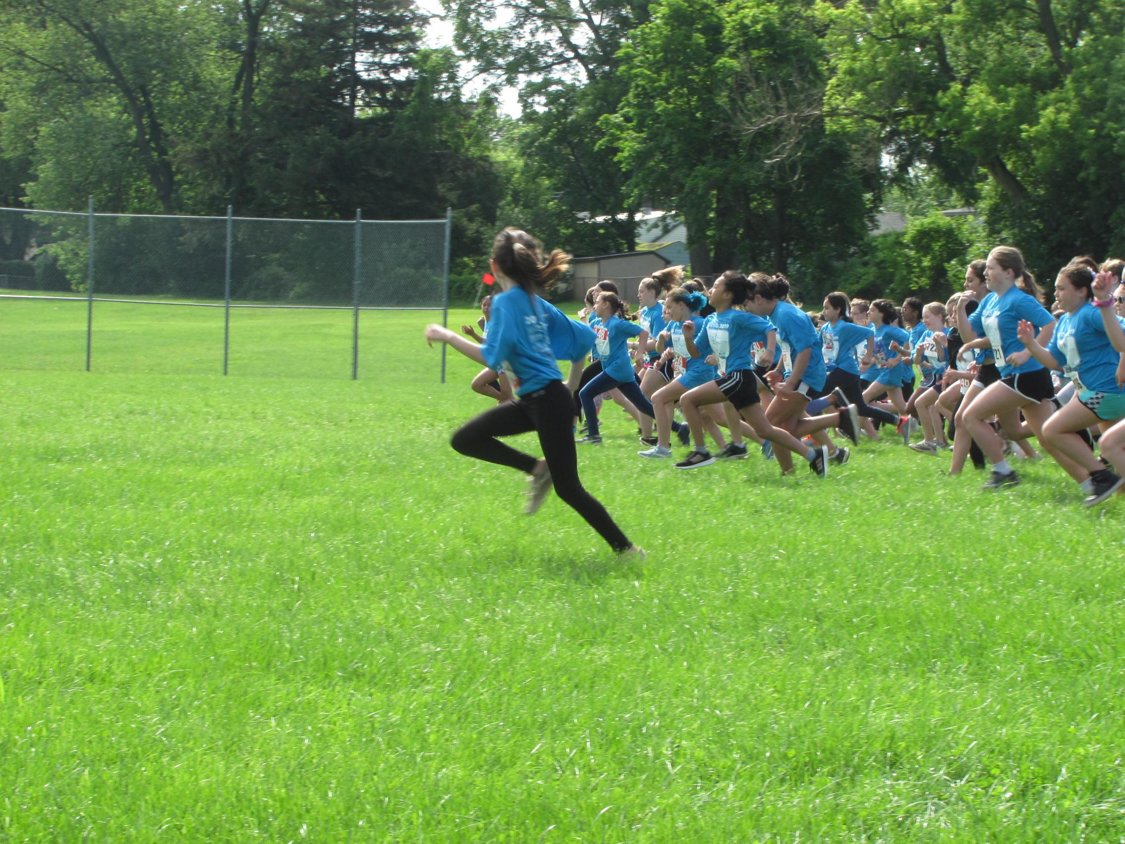 Fun Run start of race