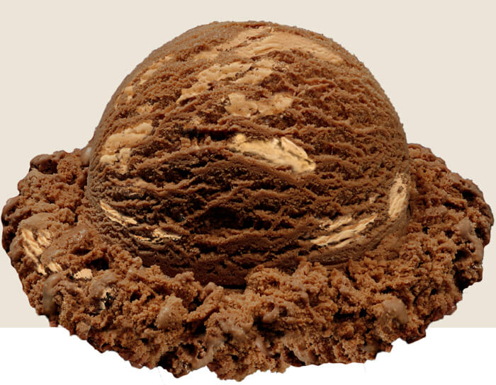 non dairy choc peanut butter cup scoop