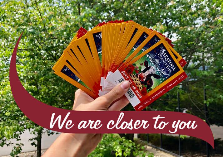 Saratoga County Fair Tickets