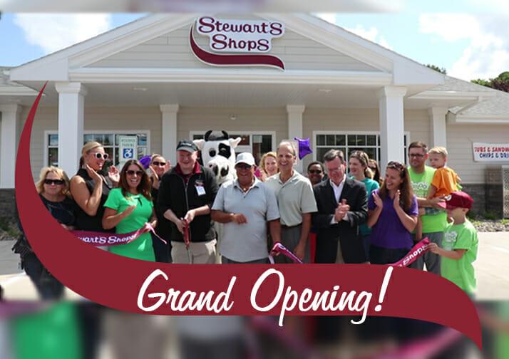 Stewart's Shop Grand Opening East Oswego Shop