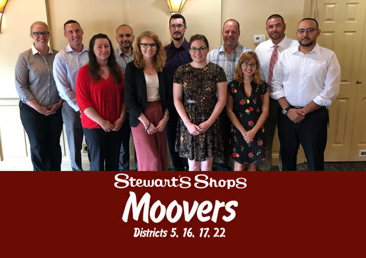Moovers districts 5, 16, 17 and 22