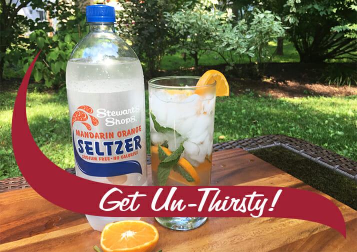 get un-thirsty seltzer
