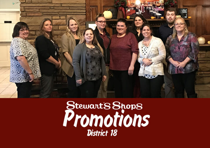 Stewart's Promotions-District 18