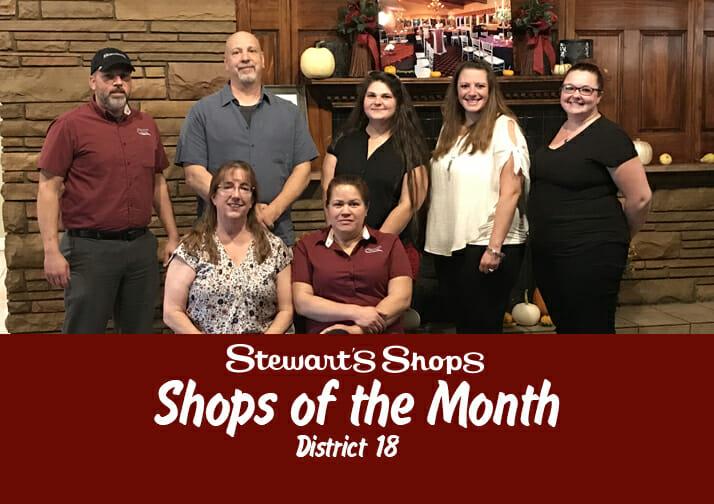 Shops of the Month_District 18