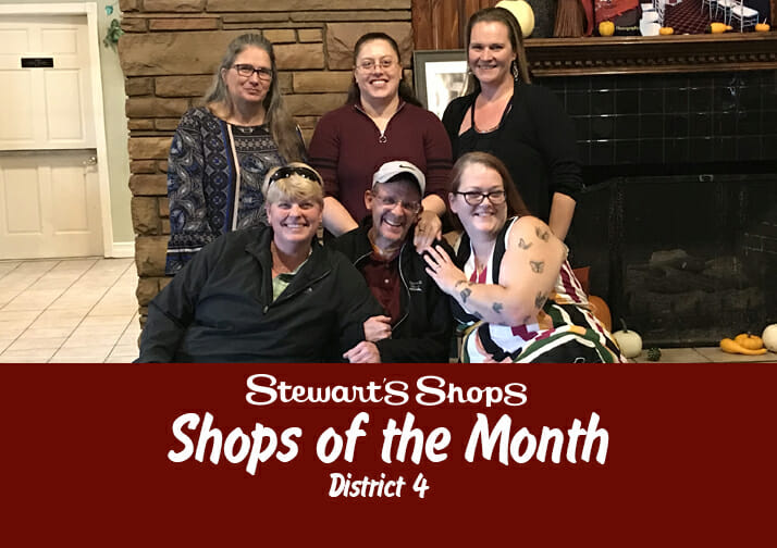 Shops of the Month District 4