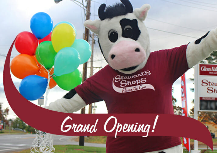 flavor with balloons, grand opening