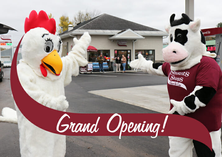 Boonville Stewart's Shop Grand Opening