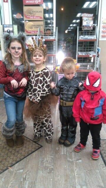 little ones on Halloween