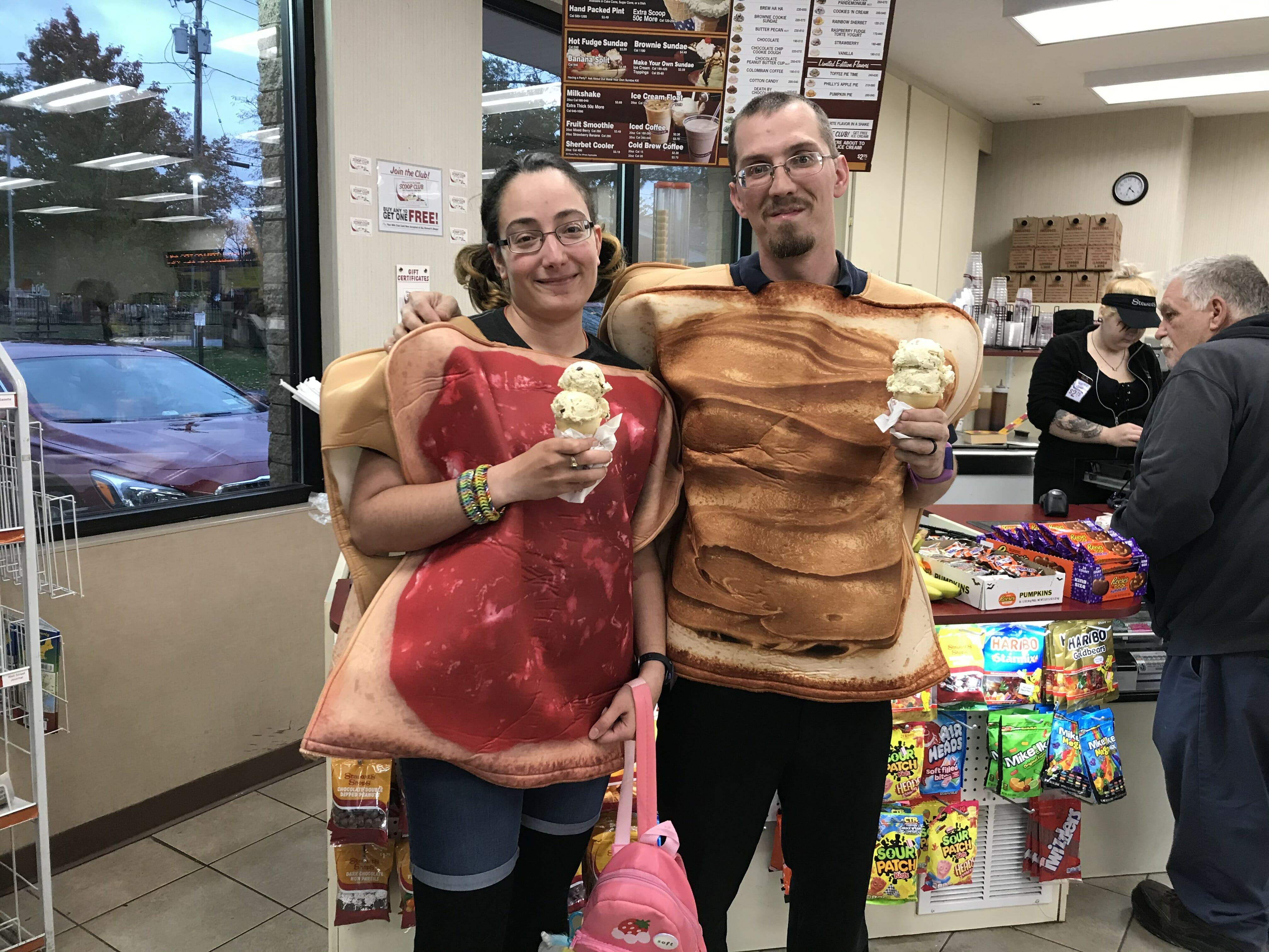PB & J Sandwiches