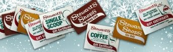 Stewarts gift cards and cetrificates