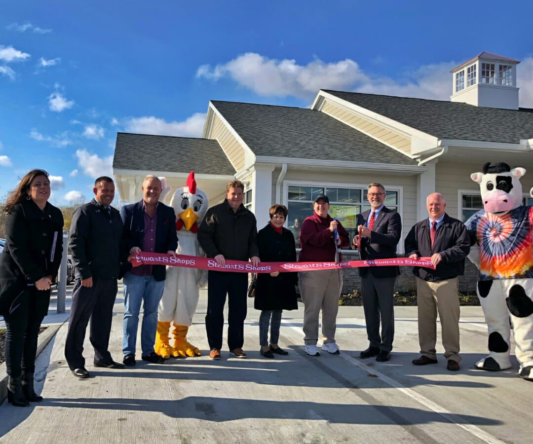 Ribbon cutting at the grand opening event in latham ny