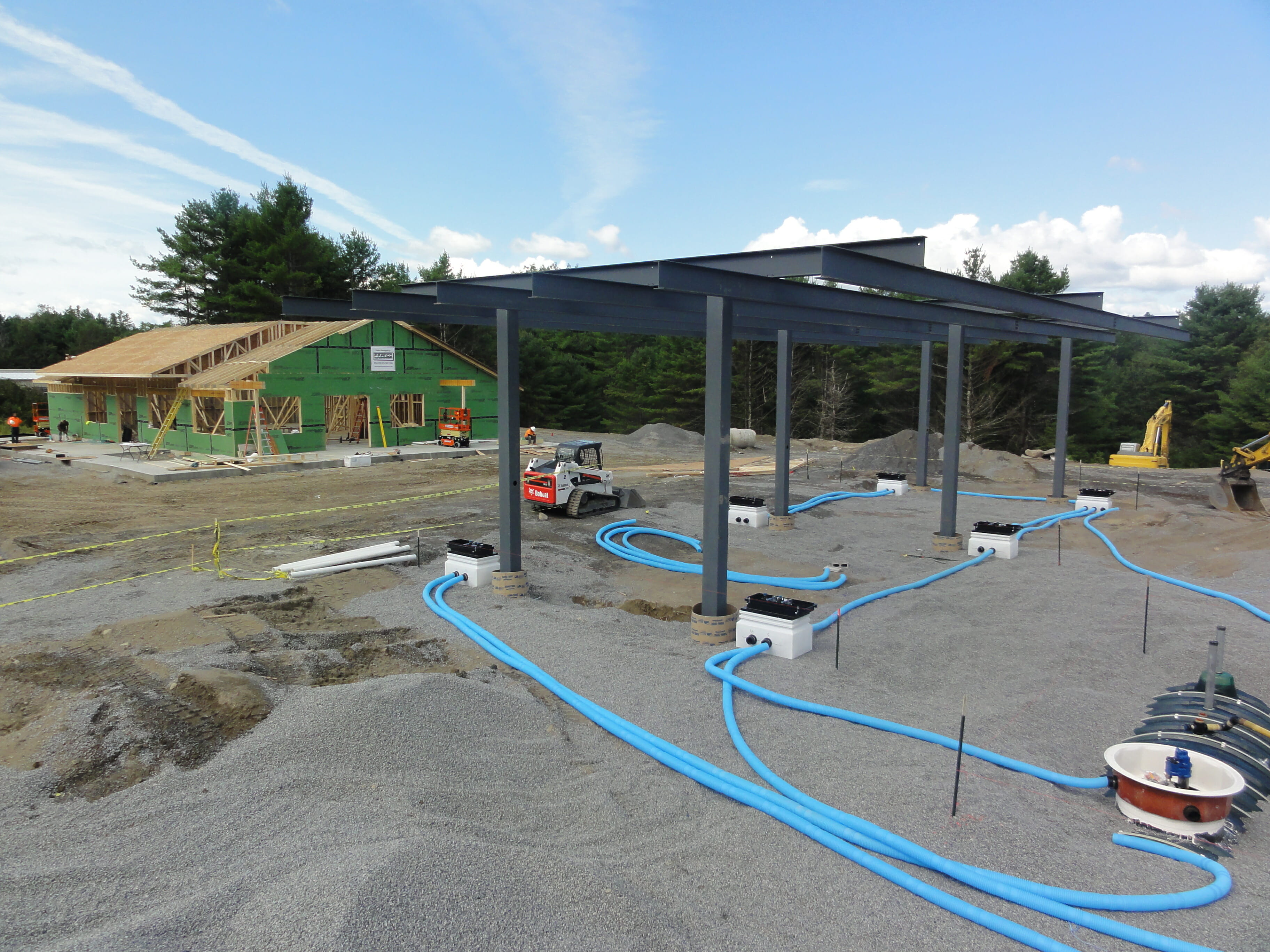 chestertown being built