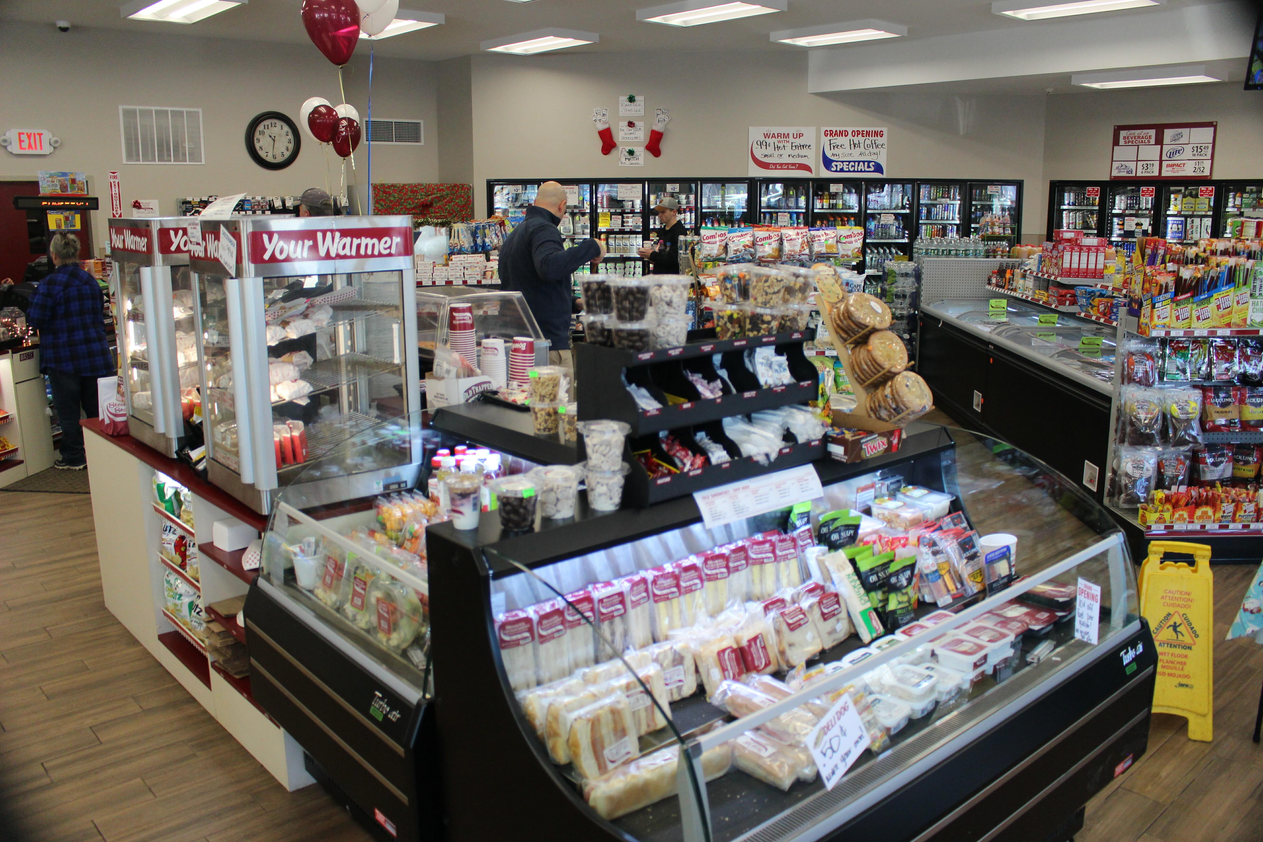 the inside of the new elizabethtown stewarts shop